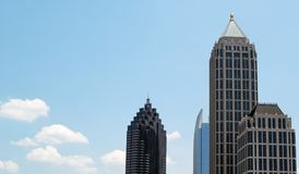 Midtown Atlanta Immagine Stock Libera da Diritti