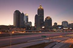 Midtown Atlanta Imágenes de archivo libres de regalías