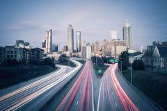 Midtown Atlanta Imagen de archivo libre de regalías