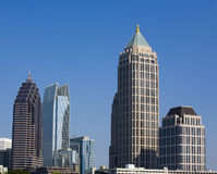 Midtown Atlanta Royalty Free Stock Photos
