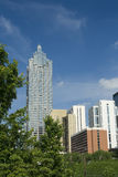 Midtown Atlanta lizenzfreies stockbild