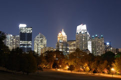 Midtown Atlanta Cityscape stock photo
