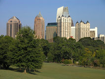 Midtown Atlanta Piedmont Royalty Free Stock Images