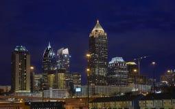 Midtown Atlanta Skyline stock photography