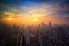 Midtown in Bangkok Royalty Free Stock Photo