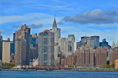 Midtown and the Chrysler building Stock Images