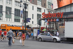 Midtown di New York Immagine Stock Libera da Diritti