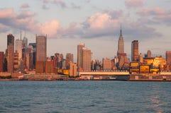 Midtown e Empire State Building Immagini Stock Libere da Diritti