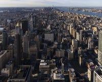 Midtown e mais baixo Manhattan Imagens de Stock