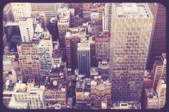 Midtown edifici di New York Fotografia Stock