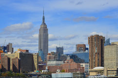 Midtown and the Empire State Building Royalty Free Stock Images