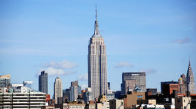 Midtown and the Empire State Building Royalty Free Stock Photo