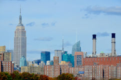 Midtown and the Empire State building Stock Photography