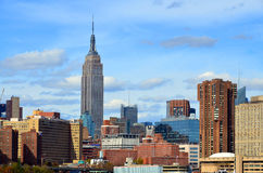 Midtown and the Empire State building Royalty Free Stock Photos
