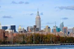 Midtown et l'Empire State Building images stock