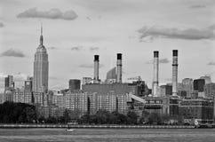 Midtown et l'Empire State Building photographie stock