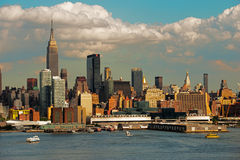 Midtown Ferry Manhattan Royalty Free Stock Photography