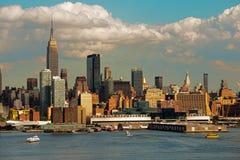 Midtown Ferry Manhattan Royalty Free Stock Photography