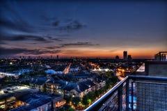 Midtown Houston Royaltyfri Foto