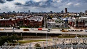 Midtown Houston, Tejas foto de archivo