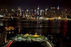 Midtown Manhattan Lizenzfreies Stockbild