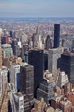 Midtown Manhattan. Aerial view of Midtown Manhattan Stock Image