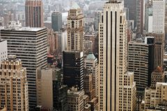Midtown Manhattan Royalty Free Stock Photography
