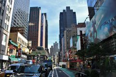 Midtown, Manhattan Royalty Free Stock Photos