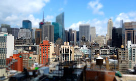Midtown Manhattan Buildings Royalty Free Stock Photos