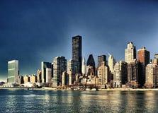 Midtown Manhattan - immagine di HDR Fotografia Stock