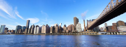 Midtown Manhattan panorama Stock Photos