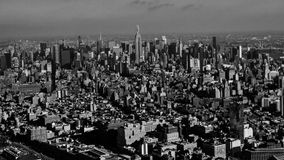 Midtown Manhattan. Manhattan from the Sky. Taken from a unique perspective to capture Manhattan in all its glory Stock Image