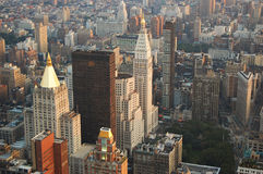 Midtown-Manhattan-Skyline stockbild