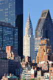 Midtown Manhattan skyline Stock Image
