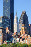 Midtown Manhattan skyline Royalty Free Stock Photo