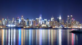 Midtown Manhattan Skyline Royalty Free Stock Image