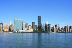 Midtown Manhattan skyline Stock Photos