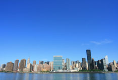 Midtown Manhattan skyline Royalty Free Stock Images