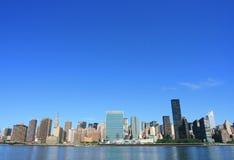 Midtown Manhattan skyline Royalty Free Stock Images