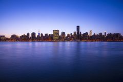 Midtown Manhattan Skyline Stock Photography