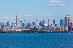 Midtown Manhattan Skyline Stock Images