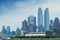 Midtown Manhattan skyline, New York Royalty Free Stock Images