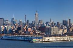 Midtown Manhattan Skyline Stock Photos
