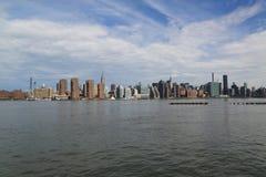 Midtown Manhattan skyline panorama Stock Image