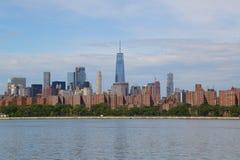 Midtown Manhattan skyline panorama Royalty Free Stock Photo