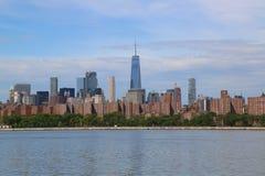 Midtown Manhattan skyline panorama Royalty Free Stock Images