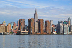 Midtown Manhattan skyline panorama Stock Photography