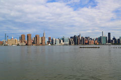 Midtown Manhattan skyline panorama Stock Images