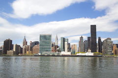Midtown Manhattan skyline panorama Stock Photo
