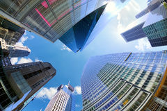 Midtown Manhattan skyscrapers Royalty Free Stock Photography
